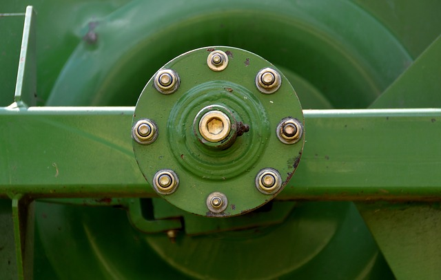 Round, Screw, Detail, Technology, Hay Tedders, Stock