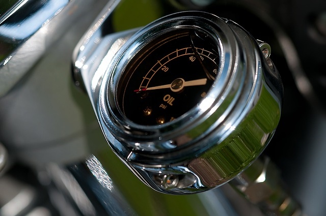Oil Temperature Gauge, Motorcycle, Details, Technology