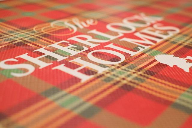 Sherlock Holmes, Book, Pattern, Detective, Investigator