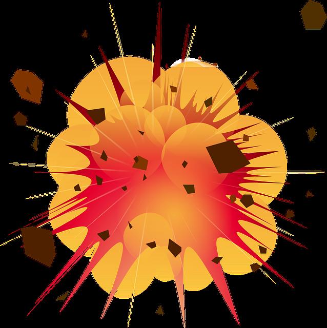 Explosion, Detonation, Boom, Bomb, Dynamite, Danger