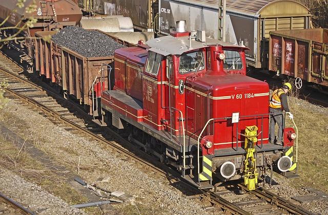 Diesel Locomotive, Switcher, Deutsche Bundesbahn