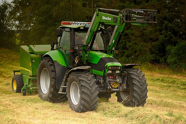 Deutz, Wage Operating, Nature, Agriculture, Cattle Feed