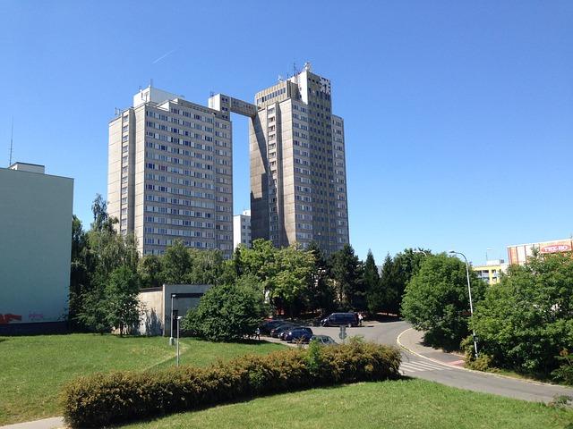Net, Housing Estate, City, Development