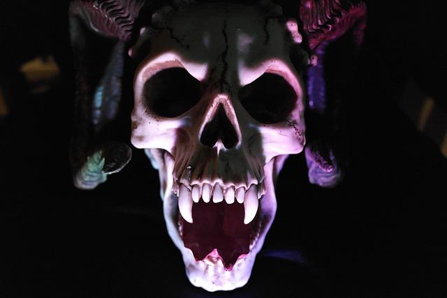 Skull, Demon, Monster, Shadow, Horror, Death, Devil