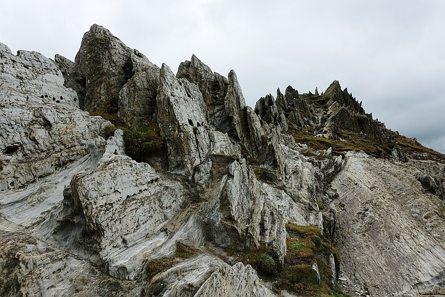 Rock, Slate, Rugged, Metamorphic, Geology, Devon
