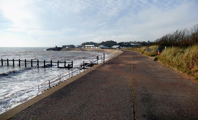 Dawlish Warren, Devon, Beach, Coast, Seaside, Uk, Sand