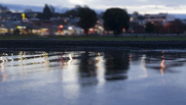 River, Tilt Shift, Photography, Technique, Devonport