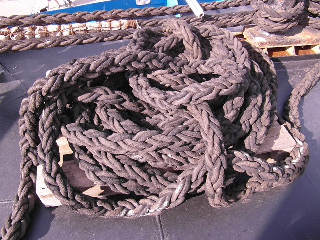 Knot, Rope, Dew, Ship Traffic Jams, Woven, Gorch Fock