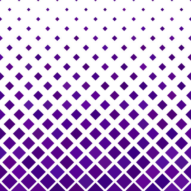 Purple, Diagonal, Square, Pattern, Square Pattern