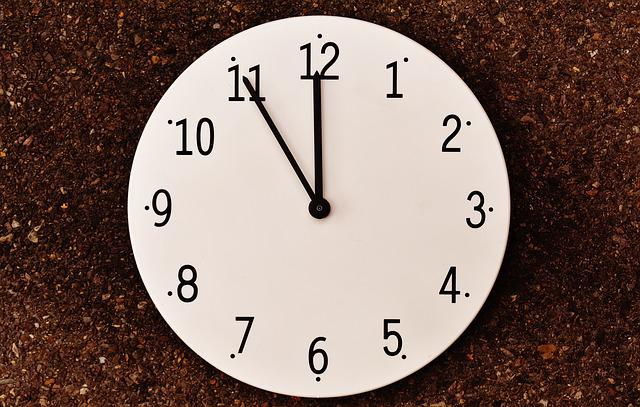 The Eleventh Hour, Disaster, Alarm Clock, Clock, Dial
