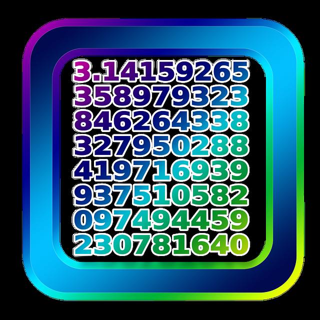 Icon, Pi, Diameter, Extensive, Ratio, Radius, Number
