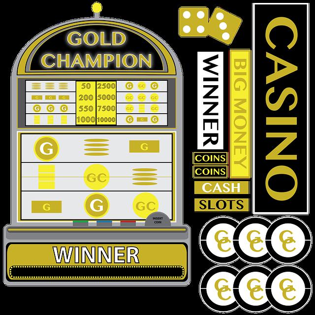 Casino, Slot Machine, Gambling, Dice, Jackpot, Vegas