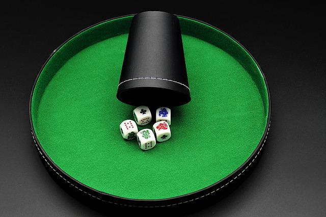 Roll The Dice, Poker, Dice Poker, Play, Win, Addiction