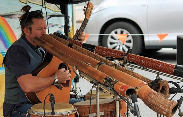 Alleinunterhalter, Didgeridoo, Australia, Music
