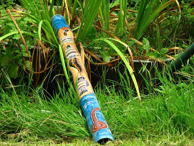 Didgeridoo, Blowgun, Musical Instrument, Australia