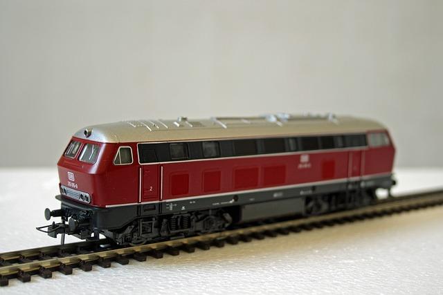 Model Railway, Diesel Locomotive, Railway, 1960 Years