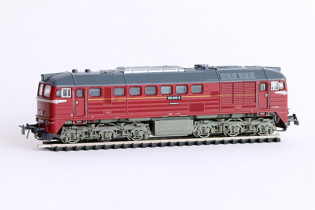 Railway, Loco, Diesel Locomotive, Taiga Drum, Br-120