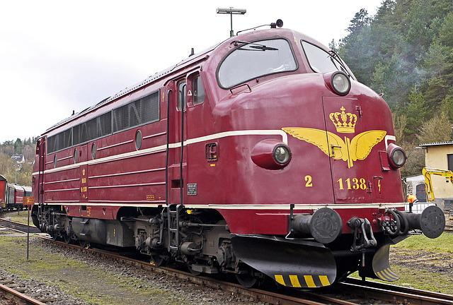 Diesel Locomotive, Nohab, Round Nose, Six-axial
