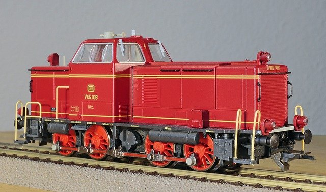 Diesel Locomotive, Model, Scale H0, Switcher