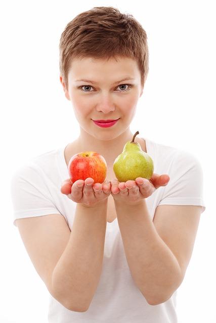 Apple, Diet, Face, Food, Fresh, Fruit, Girl, Isolated