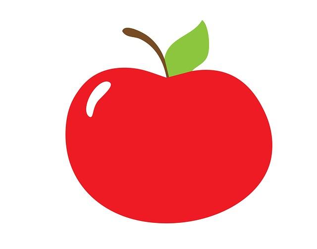 Apple, Fruit, Red, Ripe, Fresh, Organic, Healthy, Diet