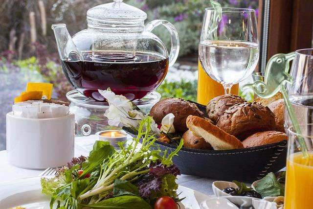 Tea, Hot, Teapot, Fruit, Diet, Healthy, Plate