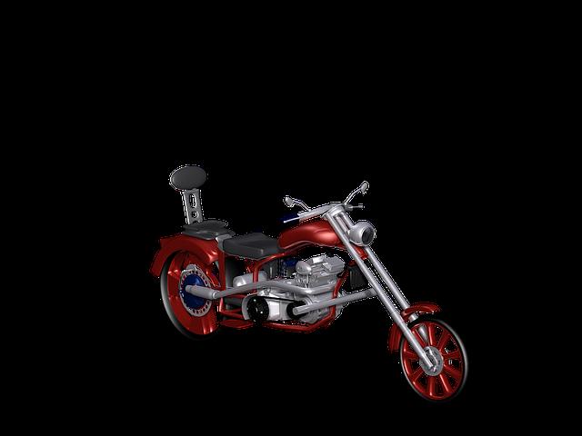 Motorcycle, Vehicle, Two Wheeled Vehicle, Digital Art