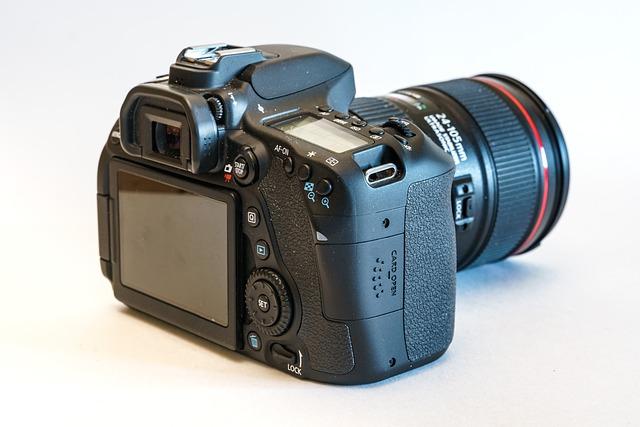 Camera, Digital Camera, Lens, Canon, Eos, 80d, Photo