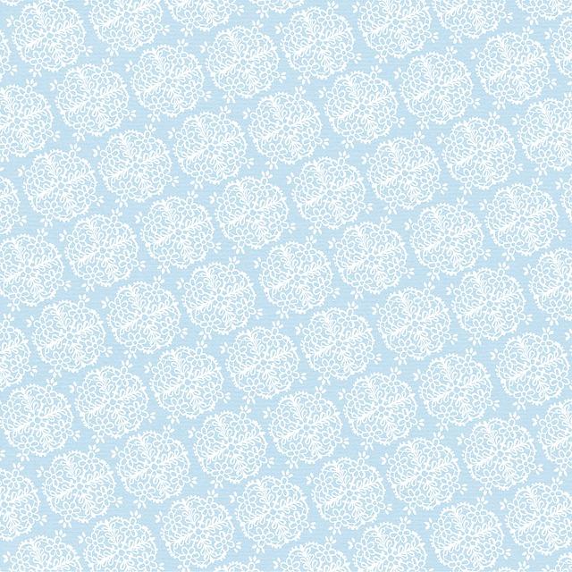 Digital Paper, Christmas, Snowflakes, Light Blue