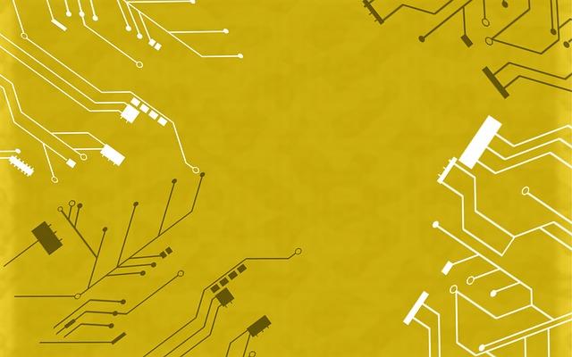 Background, Circuit, Grey, Digital, Technology, Tech