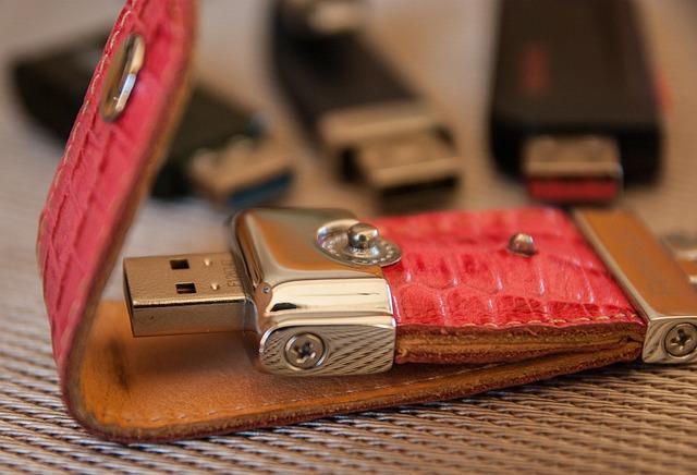 Usb Key, Memory, Computer, Digital