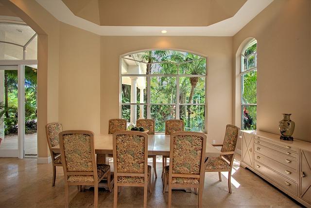 Dining Room, Parkland, Luxury Home