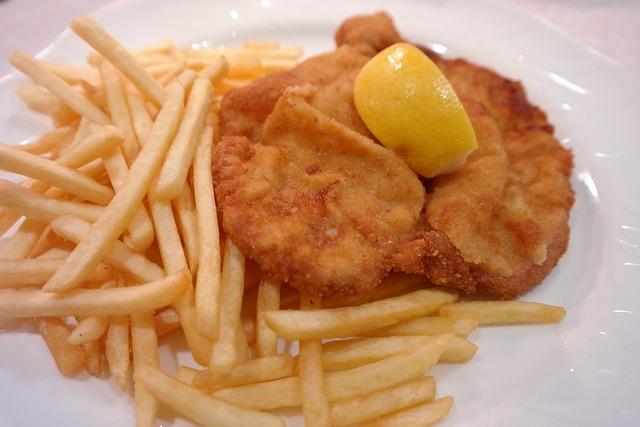 Wiener Schnitzel, Schnitzel, Dinner, Restaurant