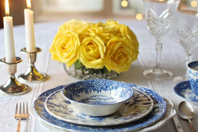 Place Setting, Dinner, Table Setting