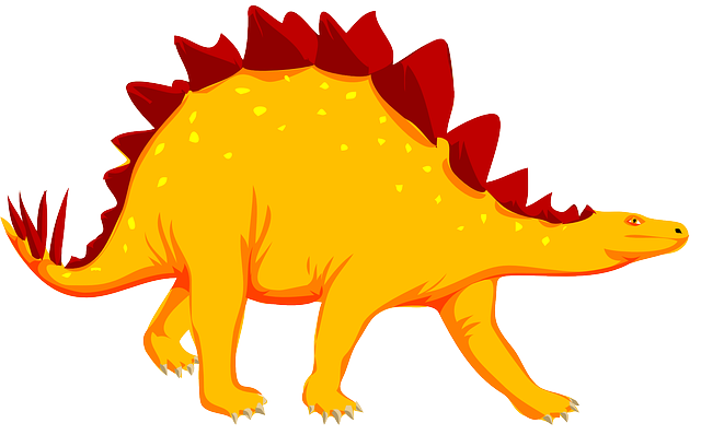 Stegosaurus, Dinosaur, Dino, Animal, Extinct, Spikes