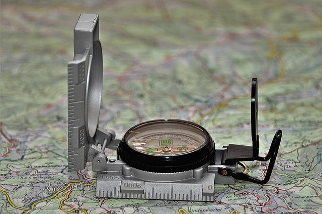 Compass, Bearing Compass, Navigation, Direction