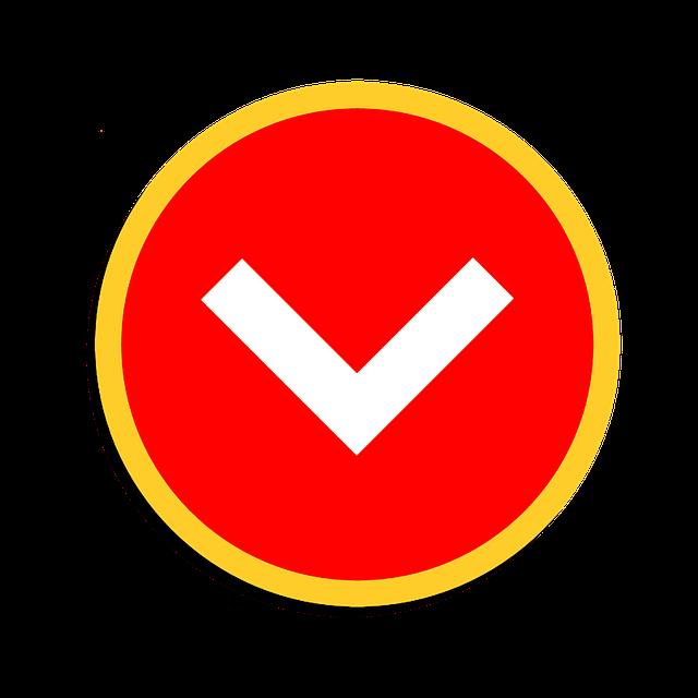 Down Arrow, Web Design, Clipart, Directions, Sticker