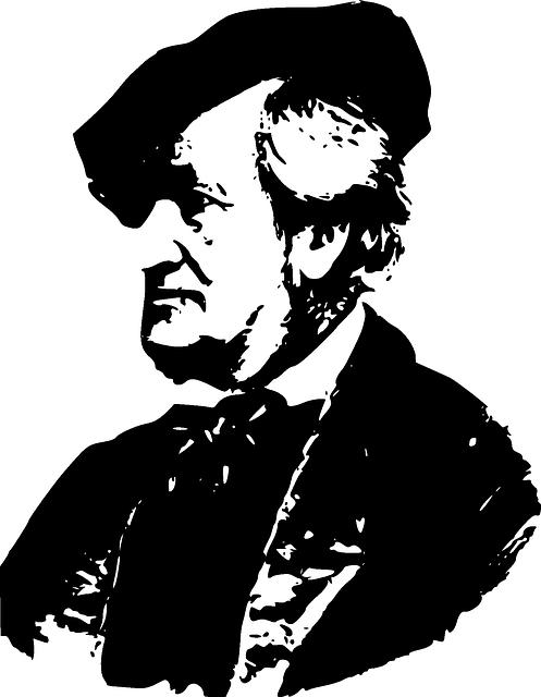 Richard, Wagner, Wearing, Hat, Composer, Director