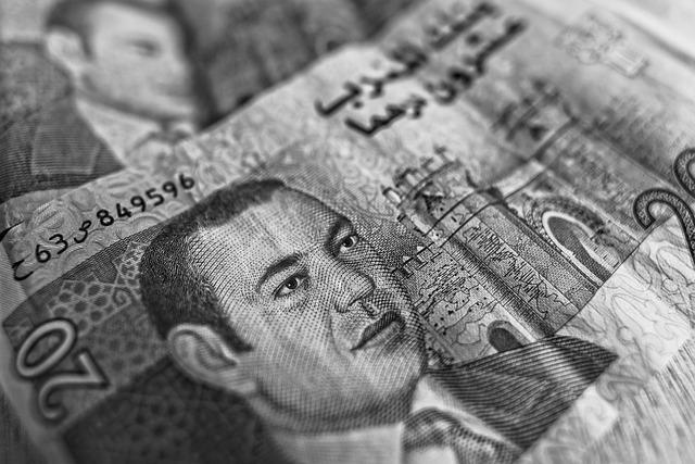 Dirham, Moroccan Currency, Banknote, Money, Cash
