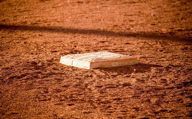 Baseball, Base, Dirt, Sand, Nature