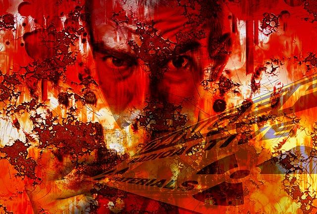 Man, Face, Fear, Risk, Grunge, Art, Eyes, Waste, Dirt