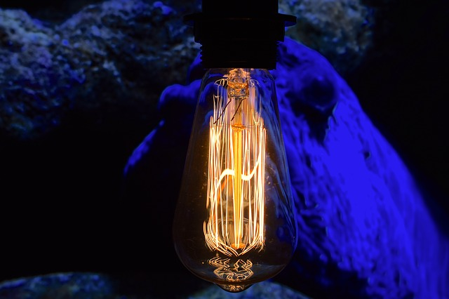 Filament, Vintage Lamp, Close Up, Disappearing