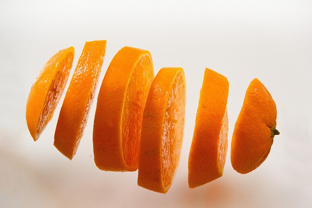 Orange, Food, Juicy, Fruit, Cut Into Slices, Disc