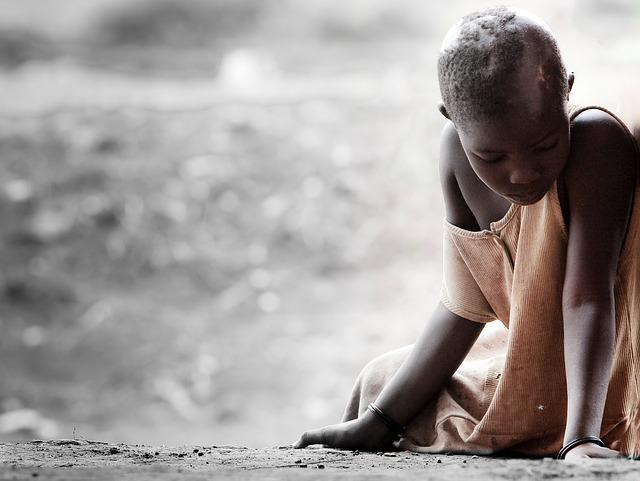 Sadness, Africa, Disease, Face, Poverty, Sick, Young
