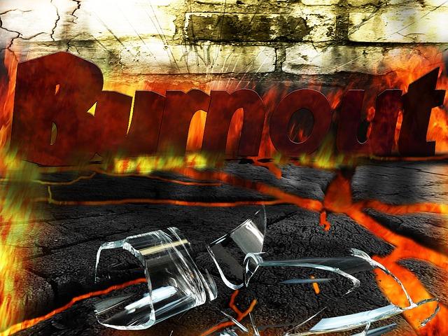 Fire, Wall, Burned Out, Burnout, Broken Glass, Disease