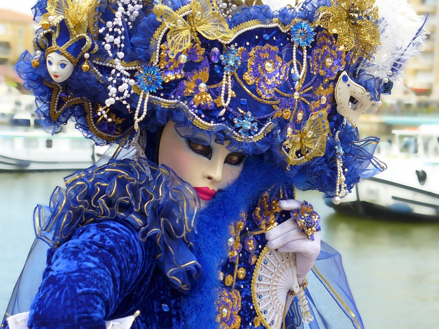 Mask Of Venice, Carnival Of Venice, Masks, Disguise