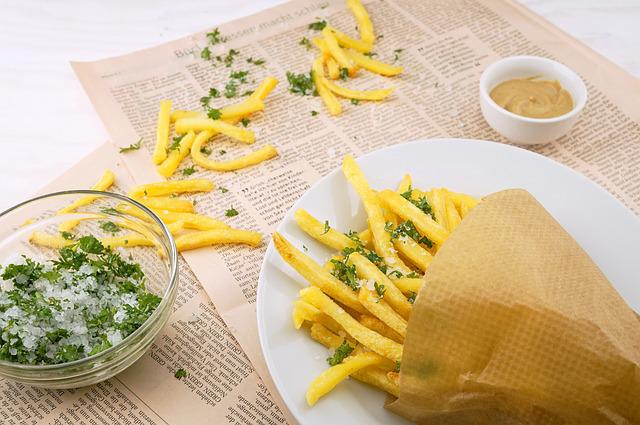 French Fries, Potato, Appetizer, Delicious, Dish