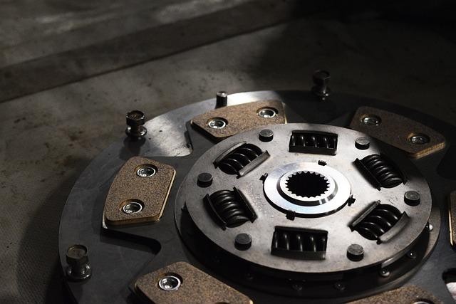 Clutch, Disk, Flywheel, Automotive, Steampunk, Gears