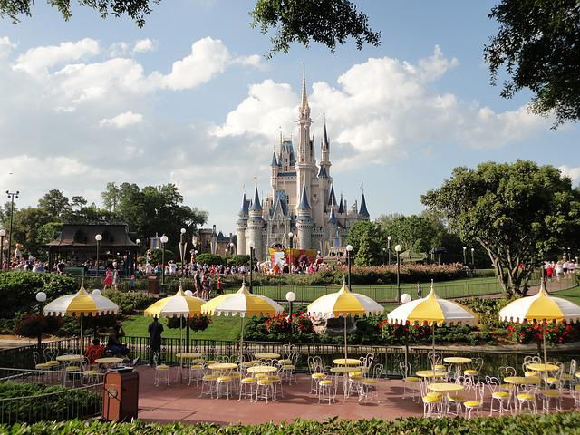 Disneyland, Disney, Castle, Fantasy World, Florida