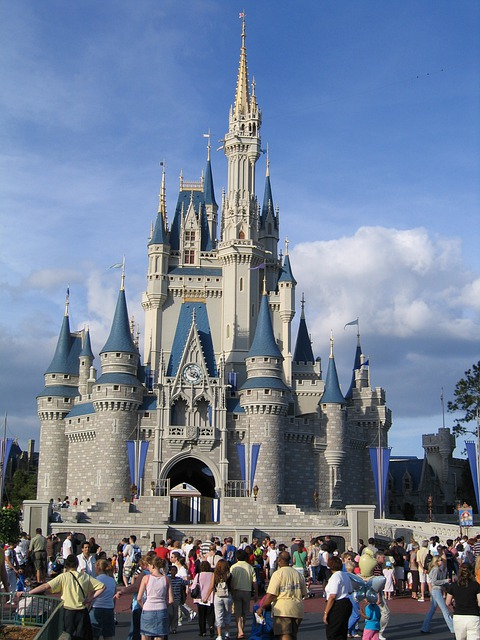 Disney World, Magic Kingdom, Building, Orlando, Florida